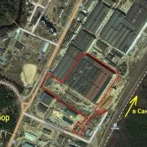 Производственно-складской комплекс с ж/д тупиком и теплово-м, в Сосновом Бору