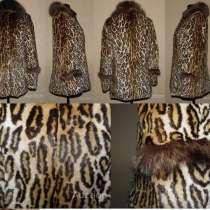 Натуральная демисезонная шубка мех леопардовый кролик, в г.Луцк