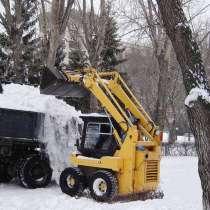 Уборка и вывоз снега. Аренда строительной техники, в Екатеринбурге