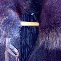 Пальто зимнее с мехом, в Дубне