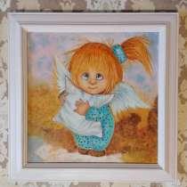 Картина с Ангелом (масло, живопись) ангел сладких снов, в Москве