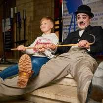 Двойник Чарли Чаплин в Москве!, в Москве
