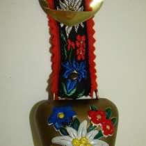 Колокольчик сувенирный альпийский (X672), в Москве