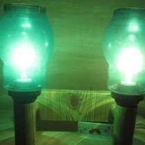 Настенный светильник с зеленой подсветкой, в Мурманске