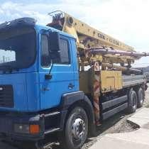 Автоетононасос CIFA K3-XR/36 на базе MAN 36м. Поршневой, шиб, в Краснодаре