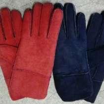 Перчатки, варежки натуральная кожа и мех, Монголия, в Иркутске