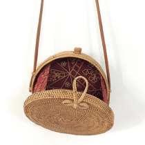 Потрясающие женские плетеные сумочки из ротанга, в Красноярске