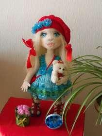 Текстильная интерьерная кукла Лизонька, в Тольятти