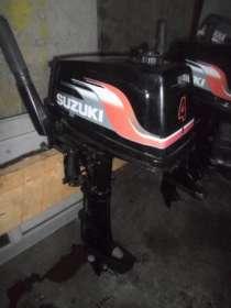 лодочный мотор SUZUKI 4 , из Японии,., в Владивостоке
