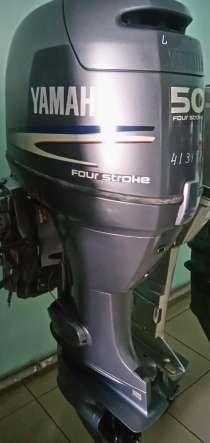 Продам отличный лодочный мотор YAMAHA F50, нога L, в Владивостоке