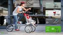 Велосипед коляска-трансформер, в Сургуте