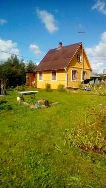 Продам участок с дачей и баней в Лебедевке озеро рядом, в г.Выборг