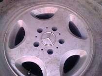 Диски Mercedes r16 ET63, 5x130 с зимней резиной, в Челябинске