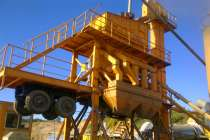 Мобильный асфальто-бетонный завод 64 тонн/час, в Калуге