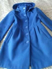 Пальто цвета аквамарин 42-44р, в Кемерове