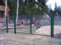 Ворота и калитки металлические различных размеров, в Краснодаре