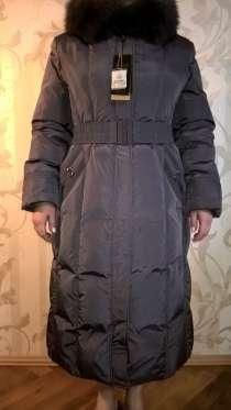 Продается Пуховое пальто с поясом и с капюшоном, в Уфе