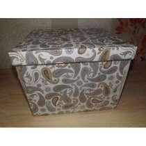 коробка с крышкой 33*38*18 см, в Барнауле