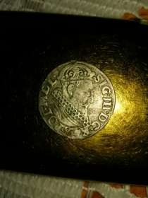 Монета 3 гроша 1621г, в г.Ивано-Франковск