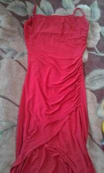 Платье вечернее ярко-красного цвета, в г.Борисов
