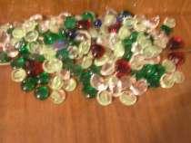 Разноцветные фигурные стеклышки, в г.Вологда