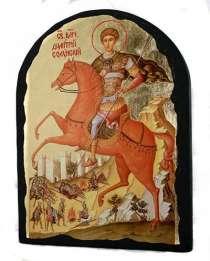 Икона Дмитрий Солунский, в г.Одесса