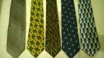 Комплект из 5 шикарных брендовых галстуков по цене одного, в Челябинске