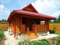 Дома из оцилиндрованного бревна, в Уфе