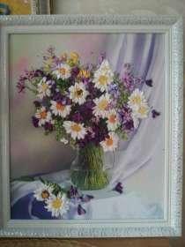 Продаю картины из лент, ручная работа, очень красивые!, в Оренбурге