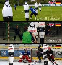 Надувные манекены игроков, футбол, гандбол, хоккей, в Санкт-Петербурге