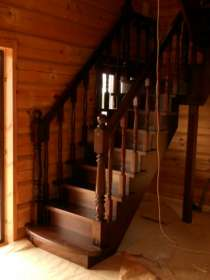 Лестницы деревянные, в Нижнем Новгороде
