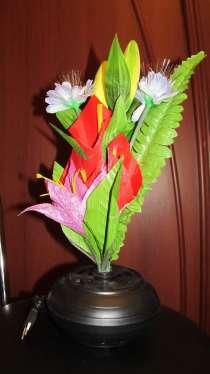Продам оптоволоконный цветочный светильник, в г.Харьков