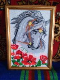 """Картина """"Лошадь в маках"""", в г.Джанкой"""