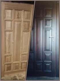 Входные двери из дуба, в Москве