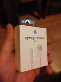 IPhone cable (2 метра)Lighting to USB) Оригинал, в Москве