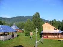 Продаётся турбаза в Чойском районе Горного Алтая, в Горно-Алтайске
