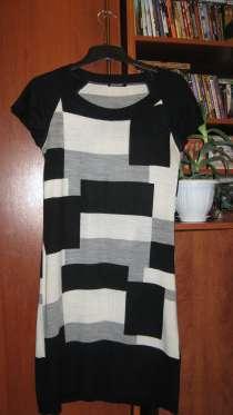 Платье из тонкого трикотажа с коротким рукавом, в Пензе