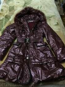 Пальто зимнее для девочки, в Мытищи