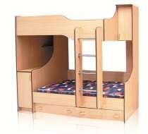 Продам 2-х ярусную детскую кровать, в Краснодаре