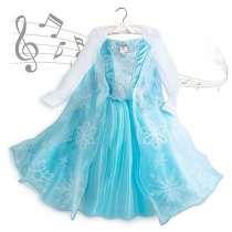 Музыкальное платье Эльза Холодное сердце Дисней оригинал, в Москве