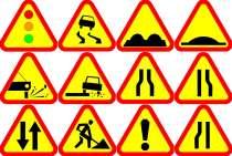 Дорожные знаки, в Санкт-Петербурге