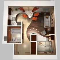Строительство, дизайн, интерьер. ремонт квартир под ключ, в г.Астана