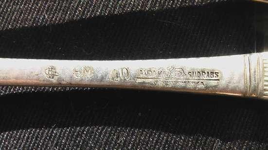 Ложки и вилки старинные клейма в Саратове Фото 2