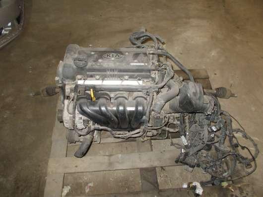 Kia Rio 3 Двигатель В хорошем состояние Пробег: - 20.000км