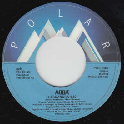 ABBA - The Day Before You Came/Cassandra