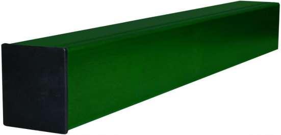 Столб с полимерным покрытием к забору 60*40*2600мм