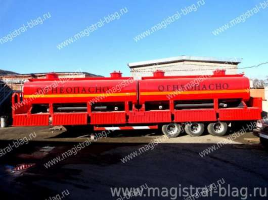 Полуприцеп-контейнеровоз-бензовоз-лесовоз HEX9400GYY. наличии