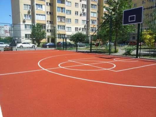 Производство спортивных покрытий из резиновой крошки в Таганроге Фото 2