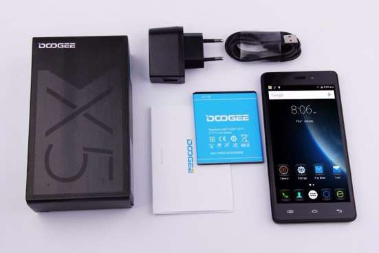 Мобильный телефон DOOGEE X5, экран 5.0 дюймов, новинка 2016 в г. Павлодар Фото 1