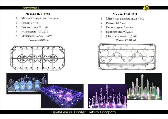 Предлагаем переносные портативные фонтаны